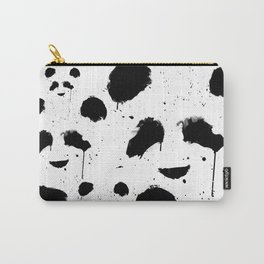 Panda Splatter Carry-All Pouch
