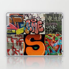 grafitti collage Laptop & iPad Skin