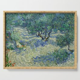Van Gogh - Olive Orchard Serving Tray
