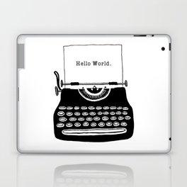 Hello World. Laptop & iPad Skin