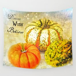 Pumpkin Wishes Wall Tapestry
