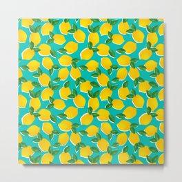 Lemons for daysss Metal Print