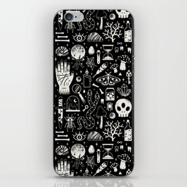 Curiosities: Bone Black iPhone Skin