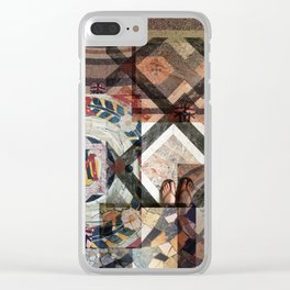 I Have This Thing With Floors Clear iPhone Case