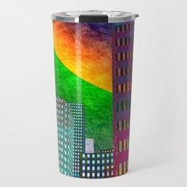 the colored city -2- Travel Mug