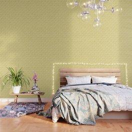 Herringbone 45 Yellow Wallpaper
