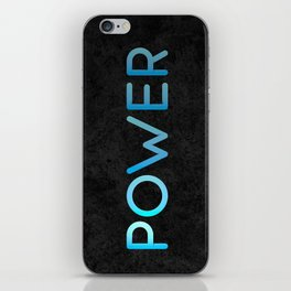 Power of the light iPhone Skin
