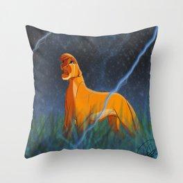 Arcana's Thunder Throw Pillow