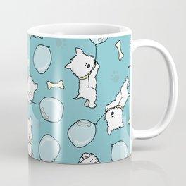 Hungry Westie Puppy Coffee Mug