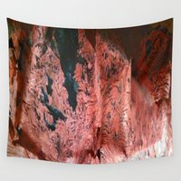 geology Wall Tapestries featuring Copper Sheet by Crayle Vanest