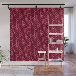 MOSAICS: RED WINE Wall Mural
