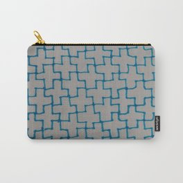 Blue Puzzle Carry-All Pouch
