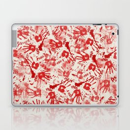 Bloody Halloween Hands Laptop & iPad Skin