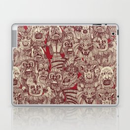 gargoyles red Laptop & iPad Skin