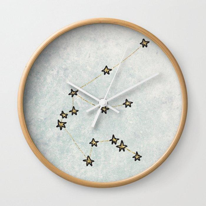 Aquarius x Zodiac x Astrology Wall Clock