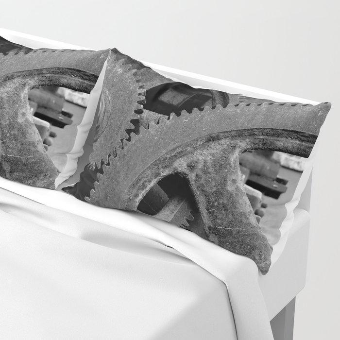 Big Gears Pillow Sham