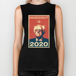 Hindsight is 2020 Bernie Sanders Biker Tank