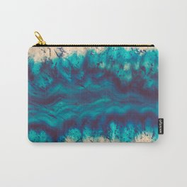 Blue Agate River of Earth Carry-All Pouch