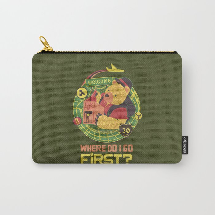 Where Do I Go Now Carry-All Pouch