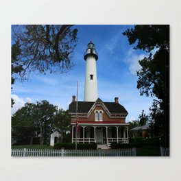 ST. SIMONS LIGHTHOUSE - Golden Isles Canvas Print