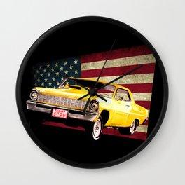 Chevy Nova 67 Wall Clock
