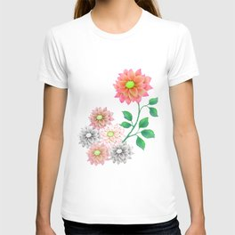 Sweet Dahlias T-shirt