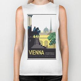 Vintage Travel Poster - Vienna Biker Tank