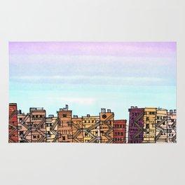 New York Purple Sky Rug