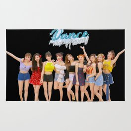 Twice dance the night away Rug