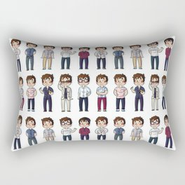 Outfits NYC Rectangular Pillow