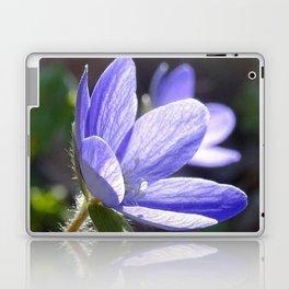 Blue beauty Laptop & iPad Skin