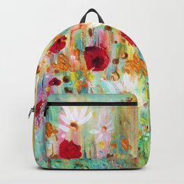 A summer meadow Backpack
