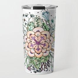 Flower in Bloom Travel Mug