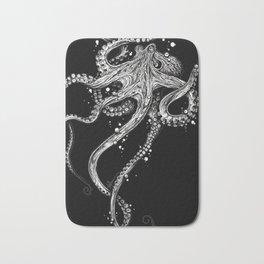 Octopus (black) Bath Mat