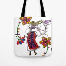 Kolo Dancer Tote Bag