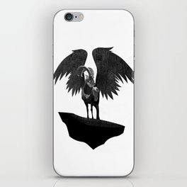 Never Stare Into The Eyes Of A Devil iPhone Skin