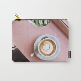 pink latte Carry-All Pouch