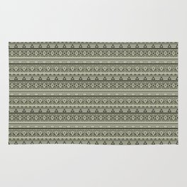 Grey , brown , ethnic , ornament , tribal , ethnic Rug