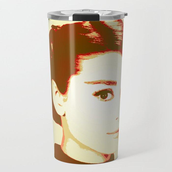 Audrey Hepburn 2 Travel Mug