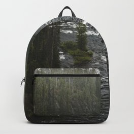 Yellowstone River Adventure - Foggy Forest Nature Photography Backpack