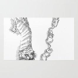Letter V Rug