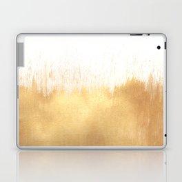 Brushed Gold Laptop & iPad Skin