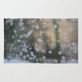 "It's frosty ""Ice Flower"" #2 #art #society6 Rug"