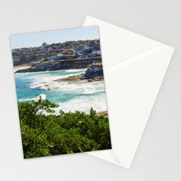 Sydney Coastline Stationery Cards