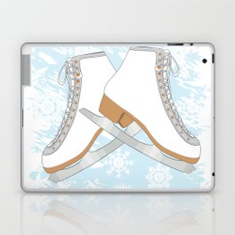 Ice skates Laptop & iPad Skin