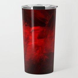Cool Red Duvet Cover Travel Mug