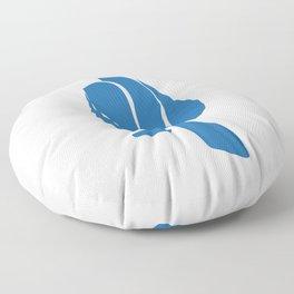 Abstract 3 Floor Pillow