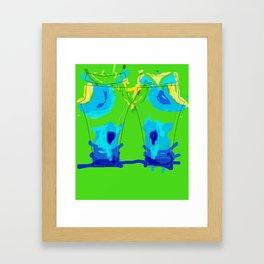 Thermal Imaging Pants Framed Art Print