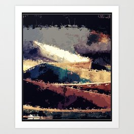 Reconciled  Art Print