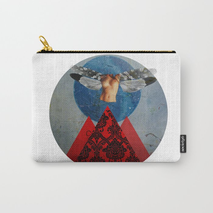 Wonder Wood Dream Mountains - Space Cadet Carry-All Pouch